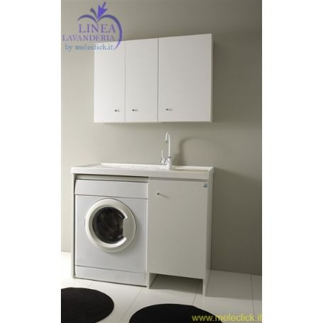 Lavapanni con lavatrice xx lavanderina xilon with lavabo con lavatrice - Mobile lavandino lavatrice ...