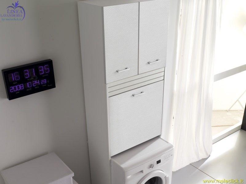 Mobile con alloggio lavatrice brava 1 vendita on line colavene - Mobile lavatrice ...