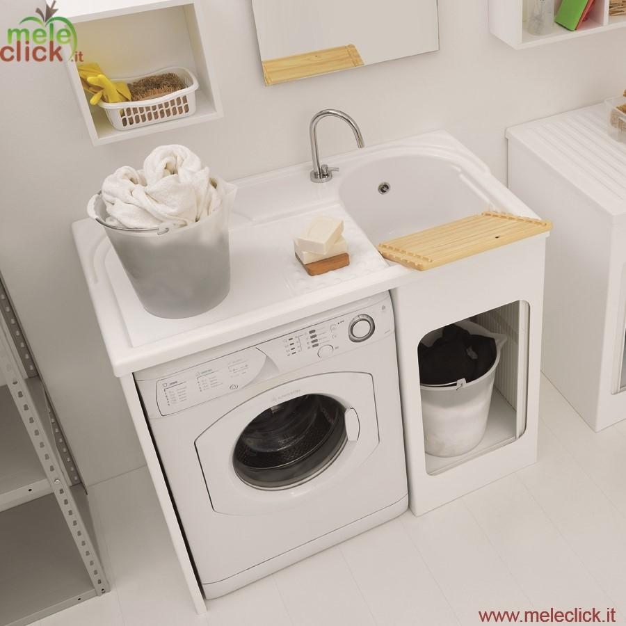Lavapanni con mobile inserimento lavatrice colavene for Esterno lavatrice